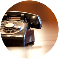 Telephone on Conference Table